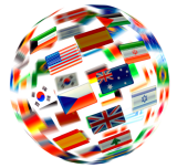flag globe links